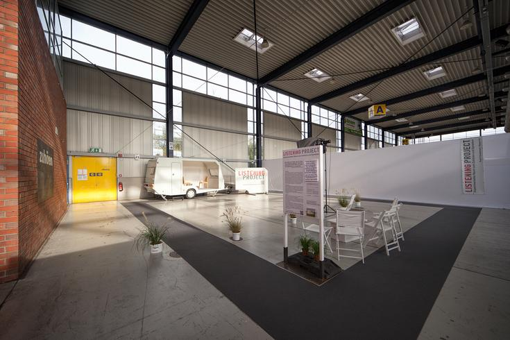 Listening Project -  Husum exhibition hall 2014